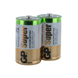 GP Batteries Super Alkaline D (GP13A-2) x 2 Battery