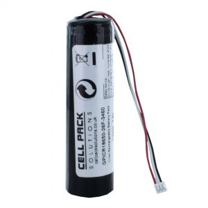Cell Pack Solutions Li-ion 1S1P 3.6V / 2600mAh Battery Pack