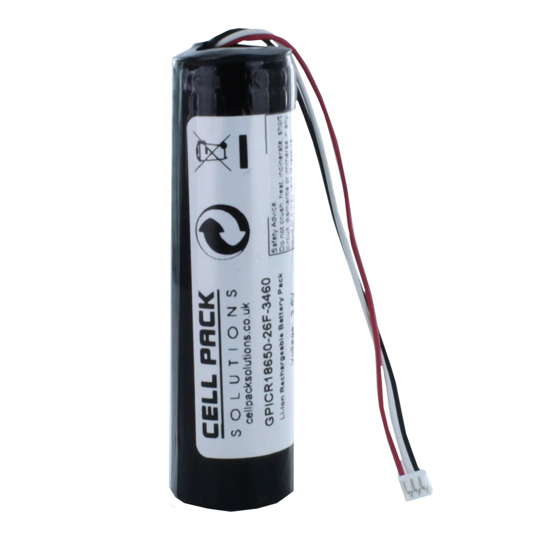 Cell Pack Solutions Li Ion 1s1p 3 7v 2600mah Battery