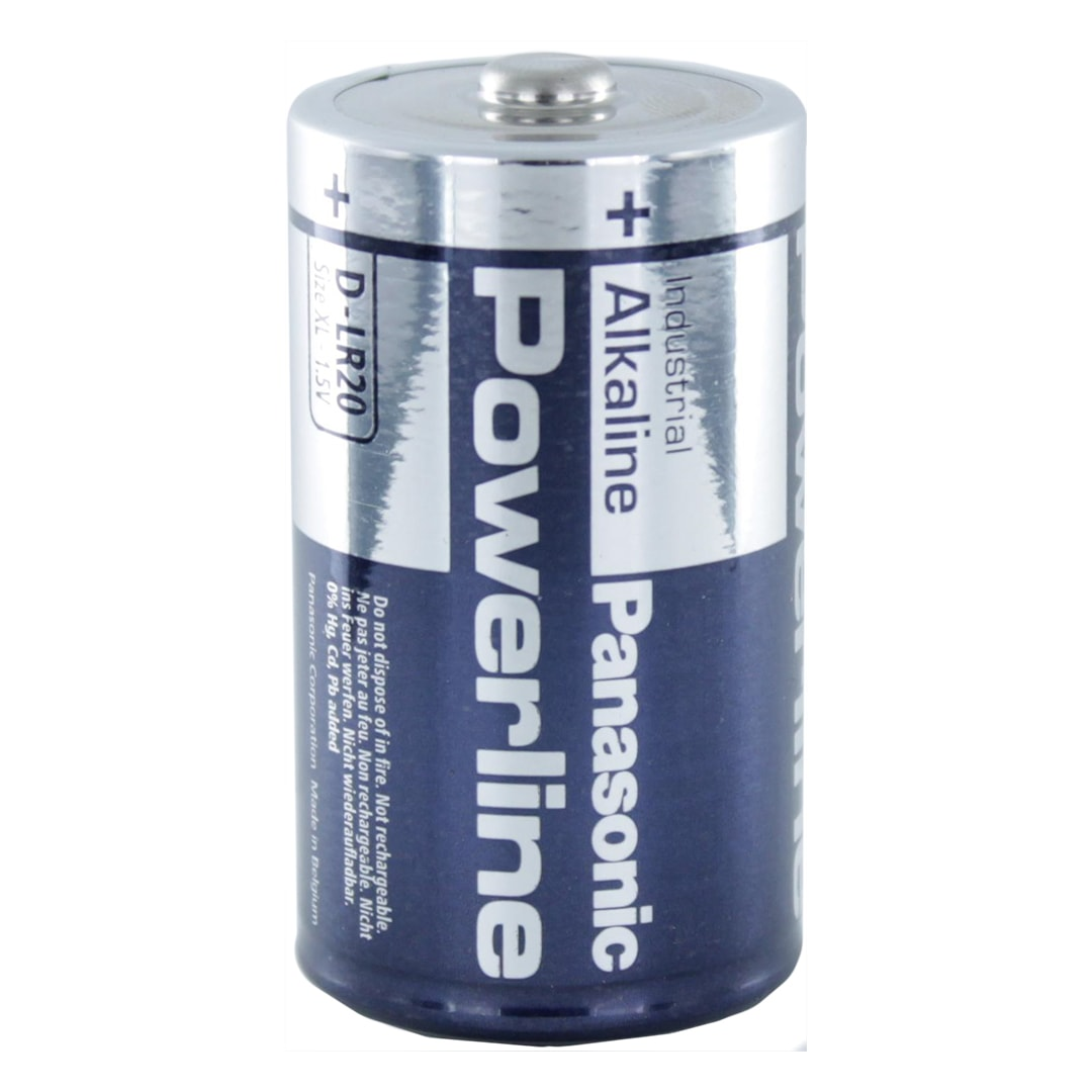 Panasonic Powerline D Battery Cell Pack Solutions