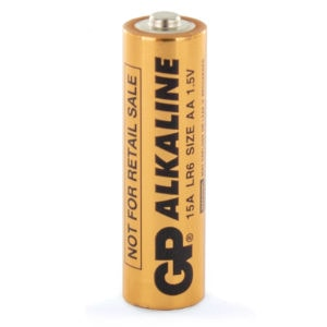 GP Batteries Industrial Alkaline AA Batteries | Box of 1000