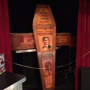 Harry Houdini Coffin Trick