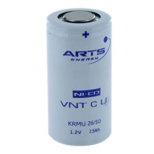 Arts Energy VNTCU2500/T C High Temp Rechargeable Battery