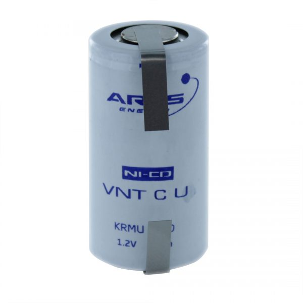 Arts Energy VNTCU2500/T C High Temp Rechargeable Tagged Battery