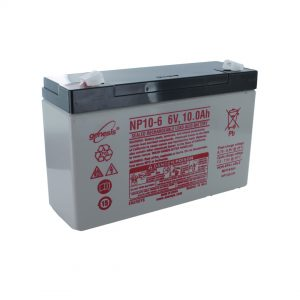 EnerSys NP10-6 Rechargeable Sealed Lead Acid (SLA) Battery
