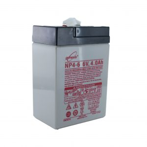 EnerSys NP4-6 Rechargeable Sealed Lead Acid (SLA) Battery