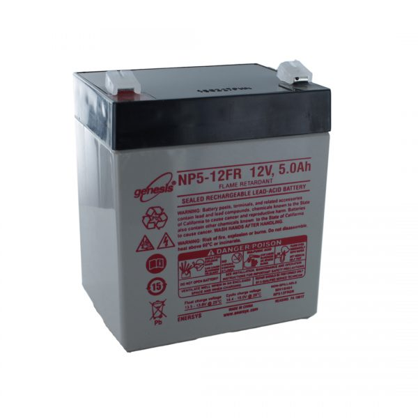 EnerSys NP5-12FR Rechargeable Sealed Lead Acid (SLA) Battery