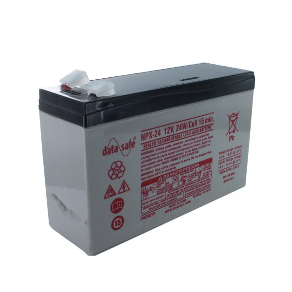 EnerSys NPX-24 High Rate Rechargeable Sealed Lead Acid (SLA) Battery