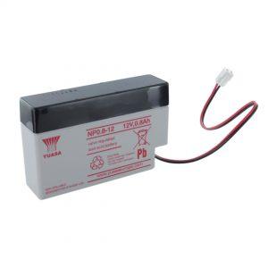 Yuasa NP0.8-12 Rechargeable Sealed Lead Acid (SLA) Battery