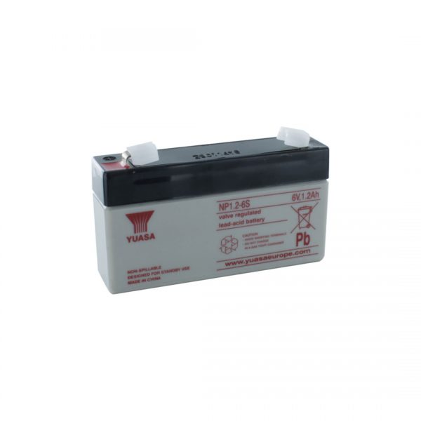 Yuasa NP1.2-6 Rechargeable Sealed Lead Acid (SLA) Battery