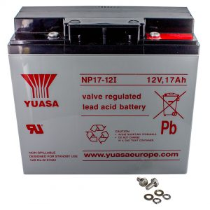 Yuasa NP17-12I Rechargeable Sealed Lead Acid (SLA) Battery