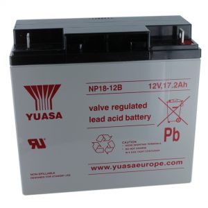 Yuasa NP18-12B Rechargeable Sealed Lead Acid (SLA) Battery