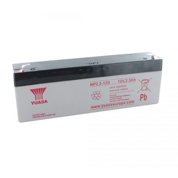 Yuasa NP2.3-12 Rechargeable Sealed Lead Acid (SLA) Battery
