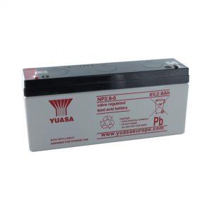 Yuasa NP2.8-6 Rechargeable Sealed Lead Acid (SLA) Battery