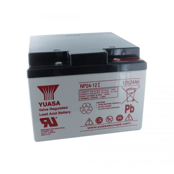 Yuasa NP24-12I Rechargeable Sealed Lead Acid (SLA) Battery