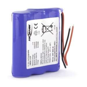 Ansmann Standard Li-ion 1S3P 3.7V / 10350mAh Battery Pack