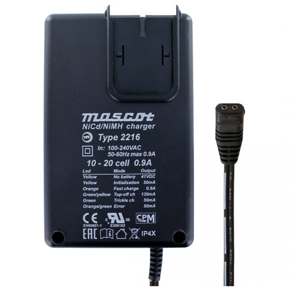 Mascot 2216 10-20 Cell NiMH / NiCd Battery Charger
