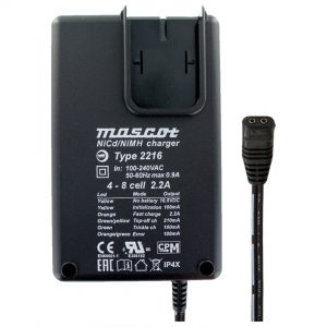 Mascot 2216 4-8 Cell NiMH / NiCd Battery Charger