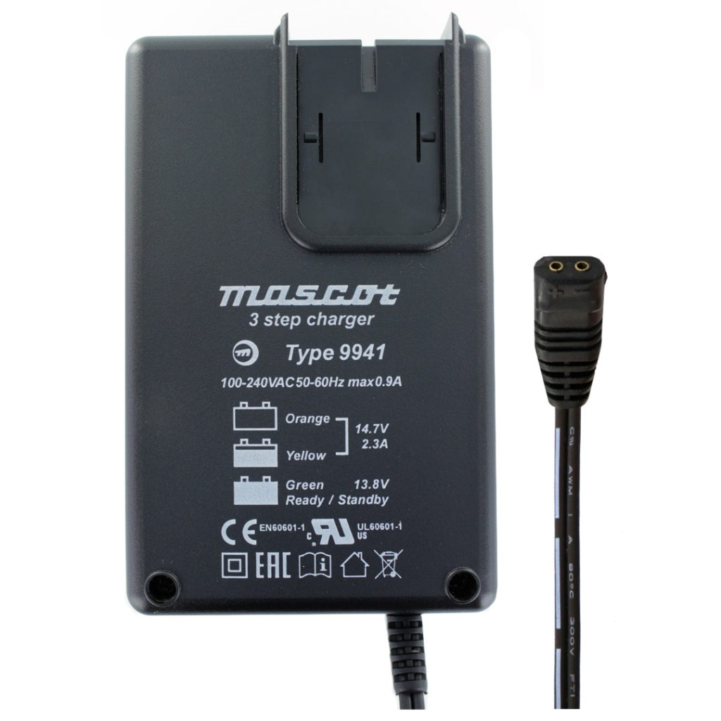Mascot 9941 12V 2.3A Lead Acid Charger
