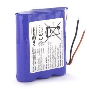 3.7v 10350mAh Li-ion Batteryc/w Safety Board