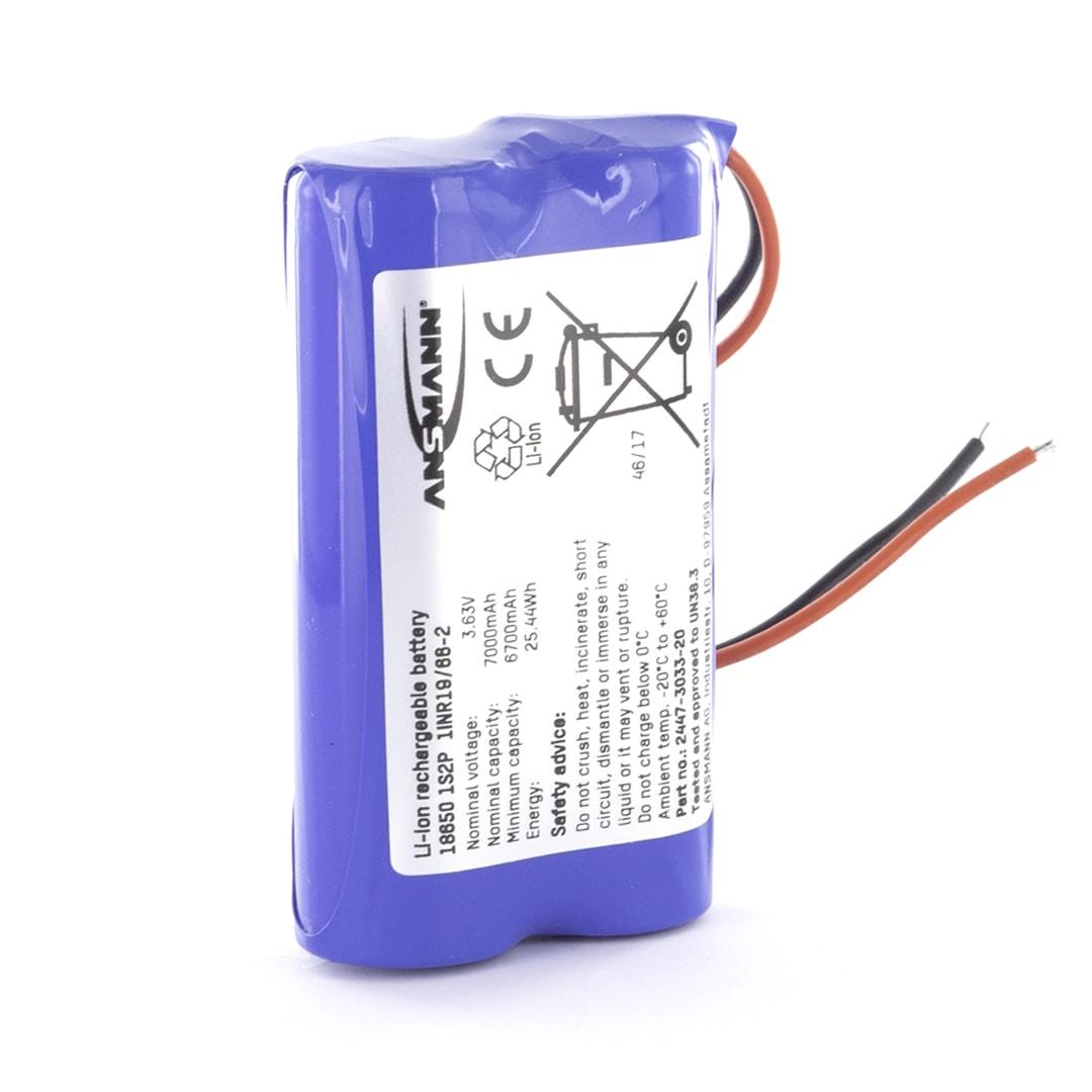 Ansmann Standard Li Ion 1s2p 3 7v 6900mah Battery Pack