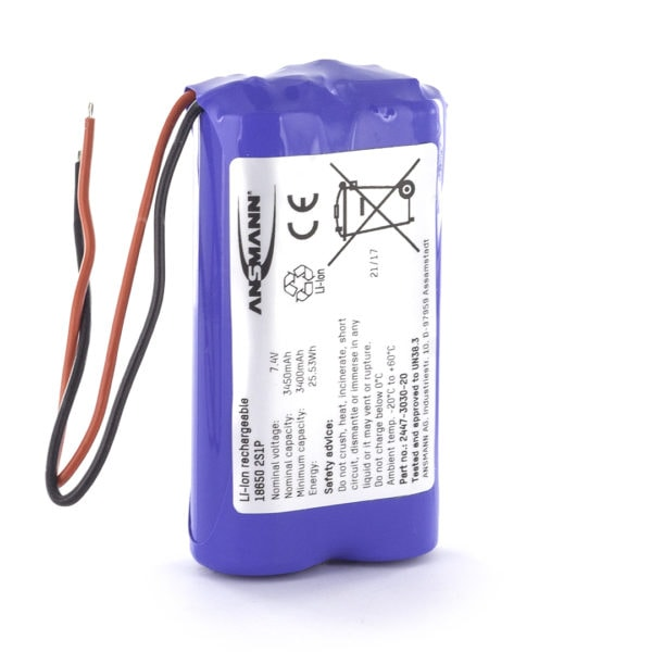 Ansmann Standard Li-ion 2s1p 7.4v 3450mah Battery Pack