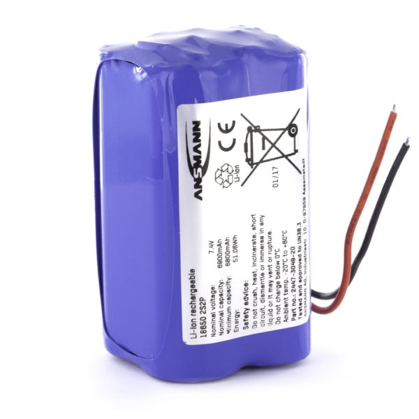 Ansmann Standard Li-ion 2s2p 7.4v 6900mah Battery Pack