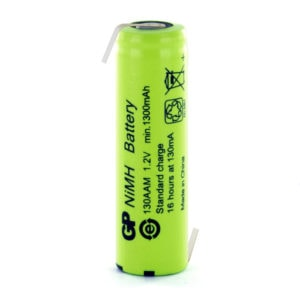 GP Batteries GP130AAHHB AA Opposite Tagged Battery