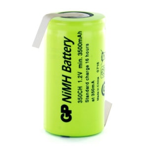 GP Batteries GP350CHHB C Opposite Tagged Battery