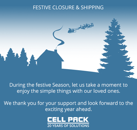 Cell Pack Christmas closure