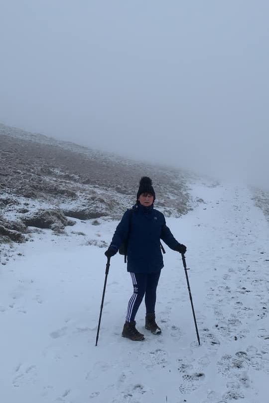 Gail Skiddaw Snow