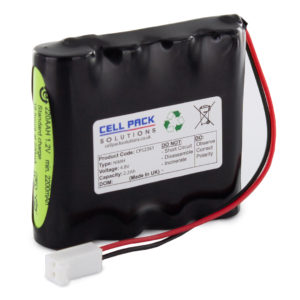 Cell Pack Solutions CPS2361 4.8V 2.2Ah NiMH Battery Pack 4C Format