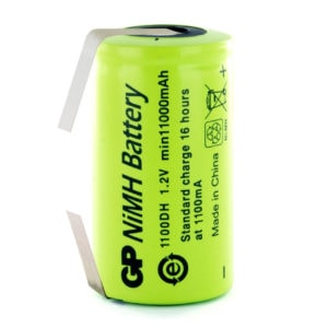 GP Batteries GP1100DH/T D Rechargeable Tagged Battery