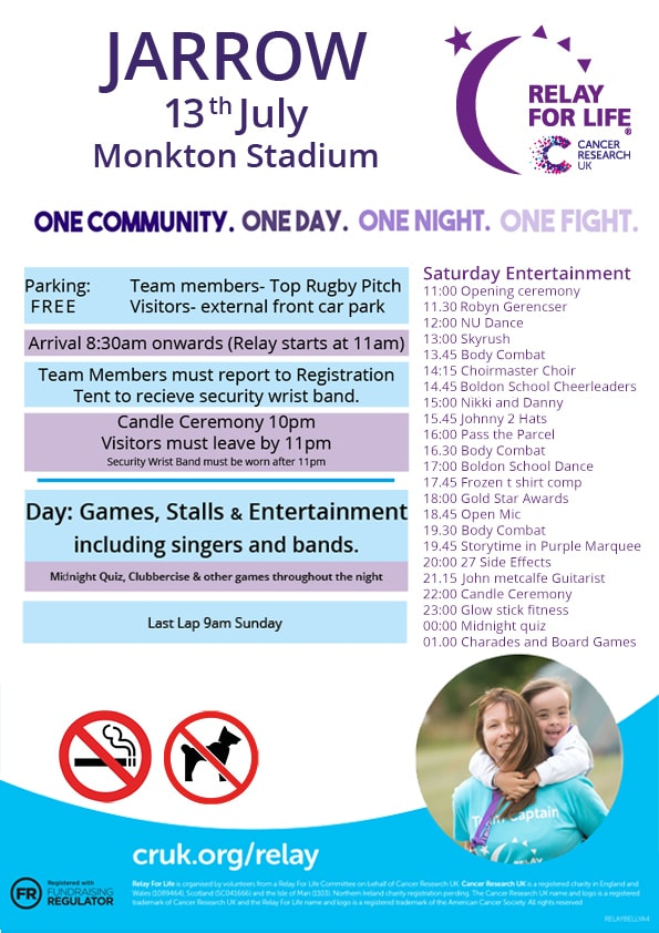 Relay For Life 2019 Poster