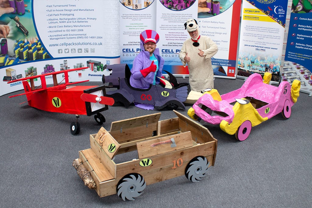 Waky Racer Cars Dick And Muttley