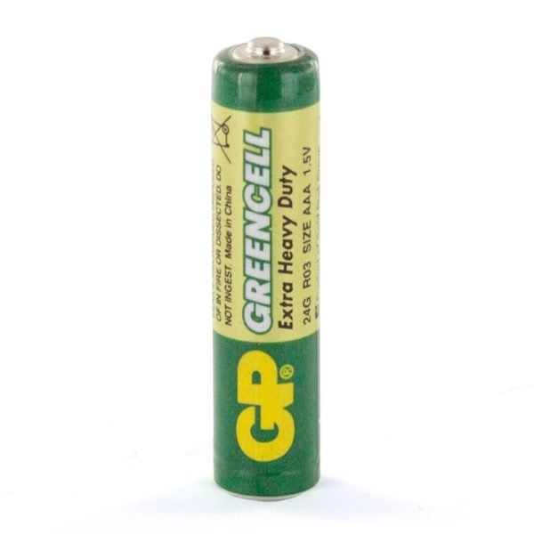 GP Batteries Greencell AAA Battery