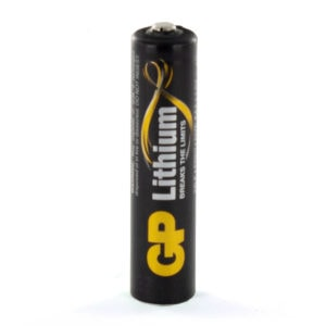 GP Batteries Lithium AAA Battery