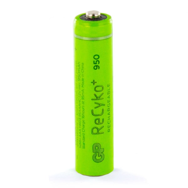 GP Batteries ReCyko+ 950mAh AAA Rechargeable Battery