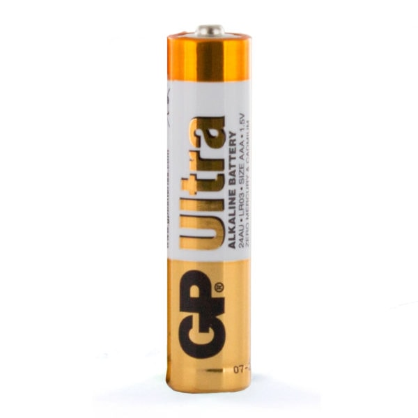 GP Batteries Ultra Alkaline AAA Batteriy