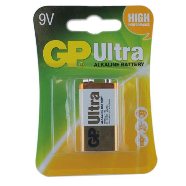 GP Batteries Ultra Alkaline PP3 (9V) Batteries | Pack of 1
