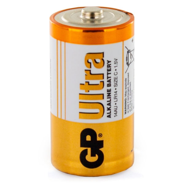 GP Batteries Ultra Alkaline C Battery