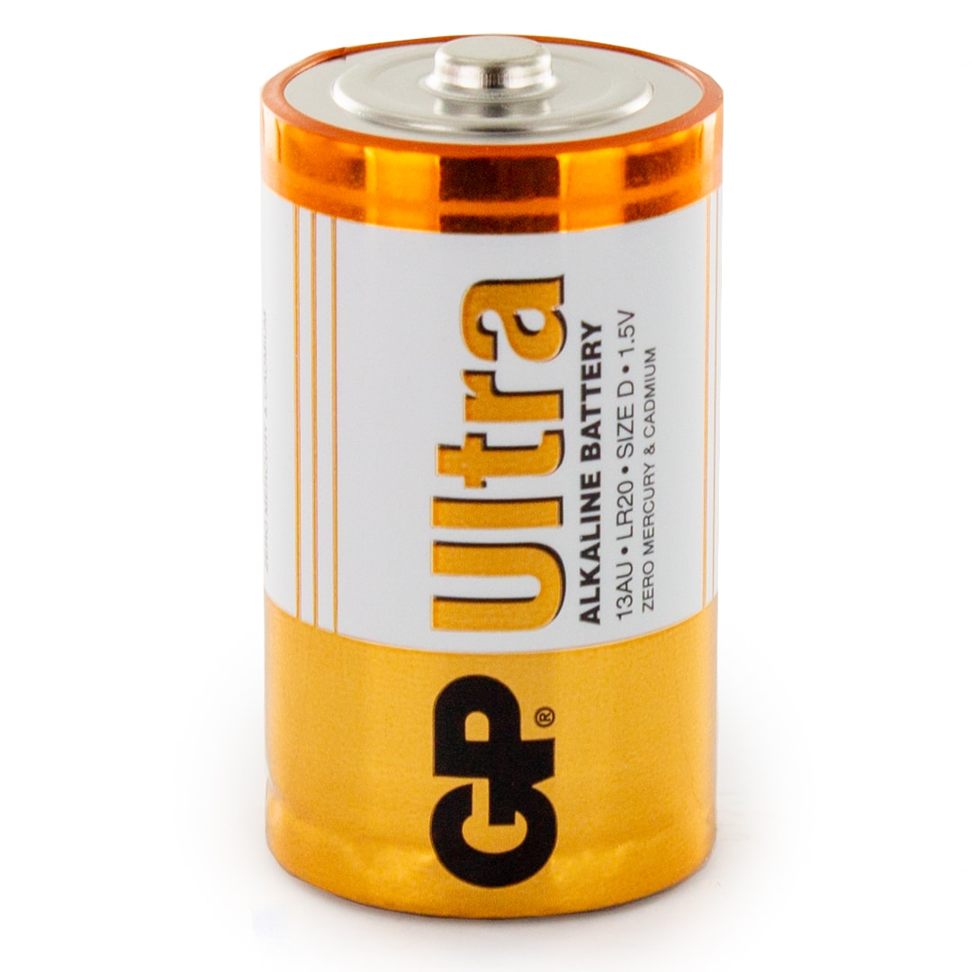 LR20; 1,5 V 2 x Ultra Alkaline Batterie  D Mono GP 13AU