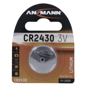 Ansmann CR2430 Lithium Coin Cell Battery