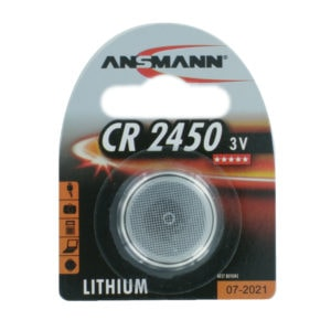 Ansmann CR2450 Lithium Coin Cell Battery