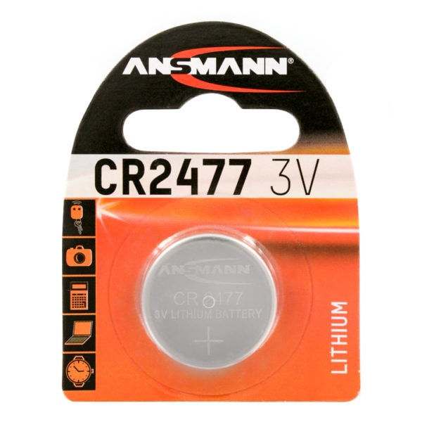 Ansmann CR2477 Lithium Coin Cell Battery