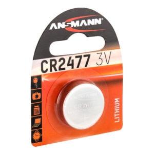 Ansmann CR2477 Lithium Coin Cell Battery Alternate