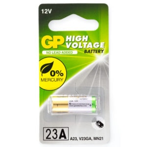 GP Batteries High Voltage 23A Batteries | Pack of 1