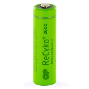 GP Batteries ReCyko+ 2600mAh AA Rechargeable Batteries