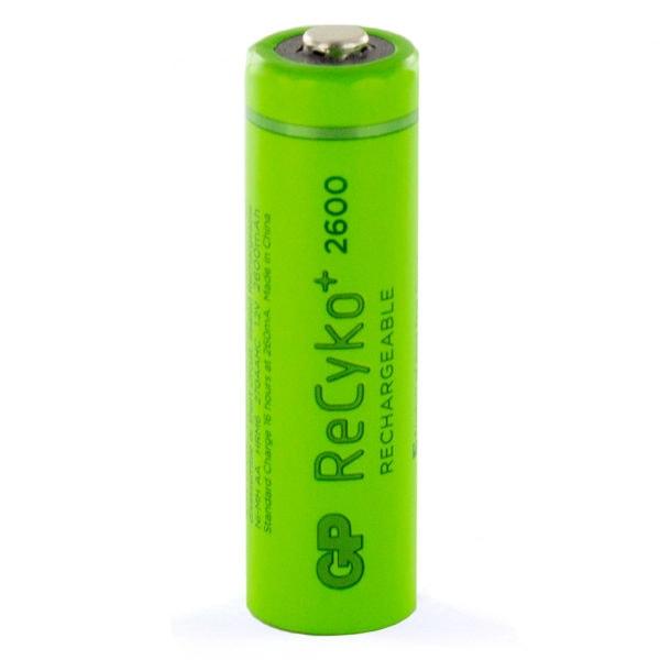 GP Batteries ReCyko+ 2600mAh AA Rechargeable Batteries