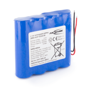 Ansmann Standard Li-ion 4s1p 14 8v 3450mah Battery Pack Inline
